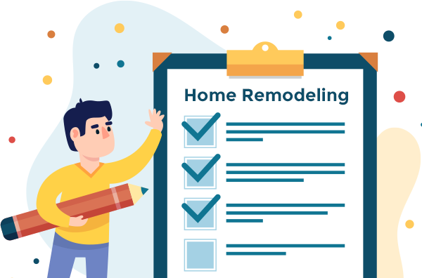 Home remodeling preparation checklist